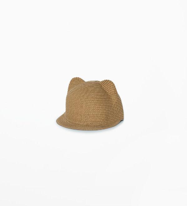 wiklinowa czapka z uszkami, zara 45,90
