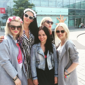@see_bloggers jesteśmy tu! @viviolifashion @swiat_karinki @zudit_blog @pikolina_88 #seebloggers #bloggers #fashion #gdynia #summer #sun #holiday #chillout #instamatki #models #yaahhh