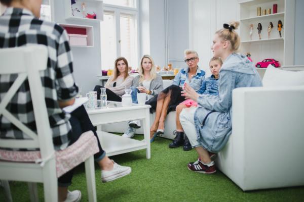 Barbie Glos ma sile - blogerki na spotkaniu z E.Lisowska