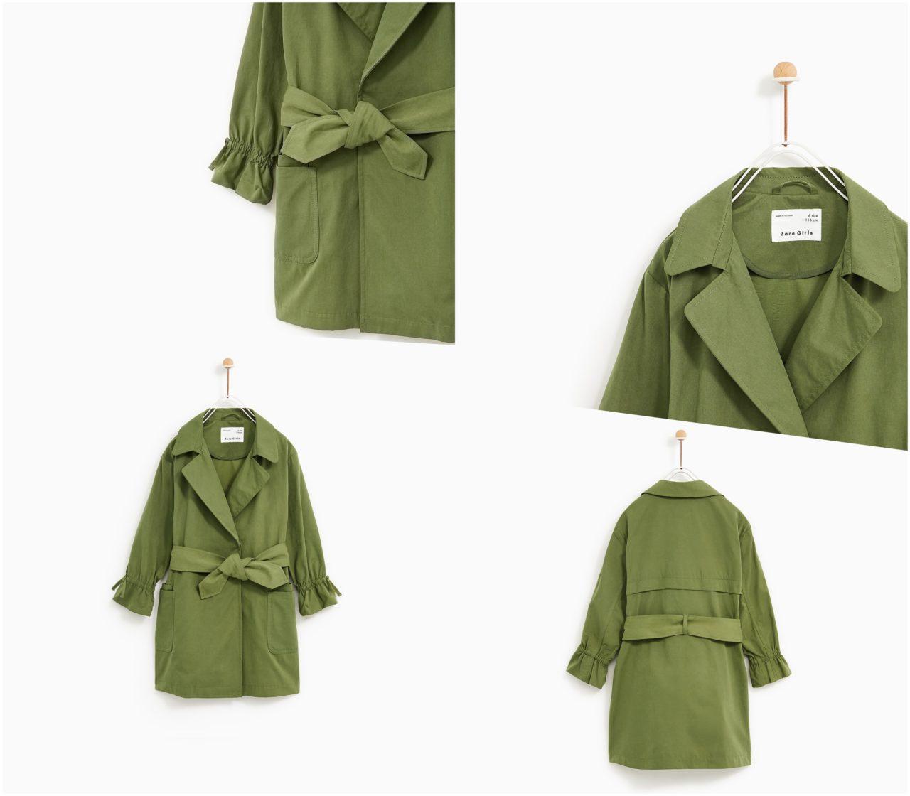zara kurtki płaszcze dla dzieci